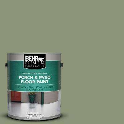 1 gal. #PFC-39 Moss Covered Low-Lustre Interior/Exterior Porch and Patio Floor Paint