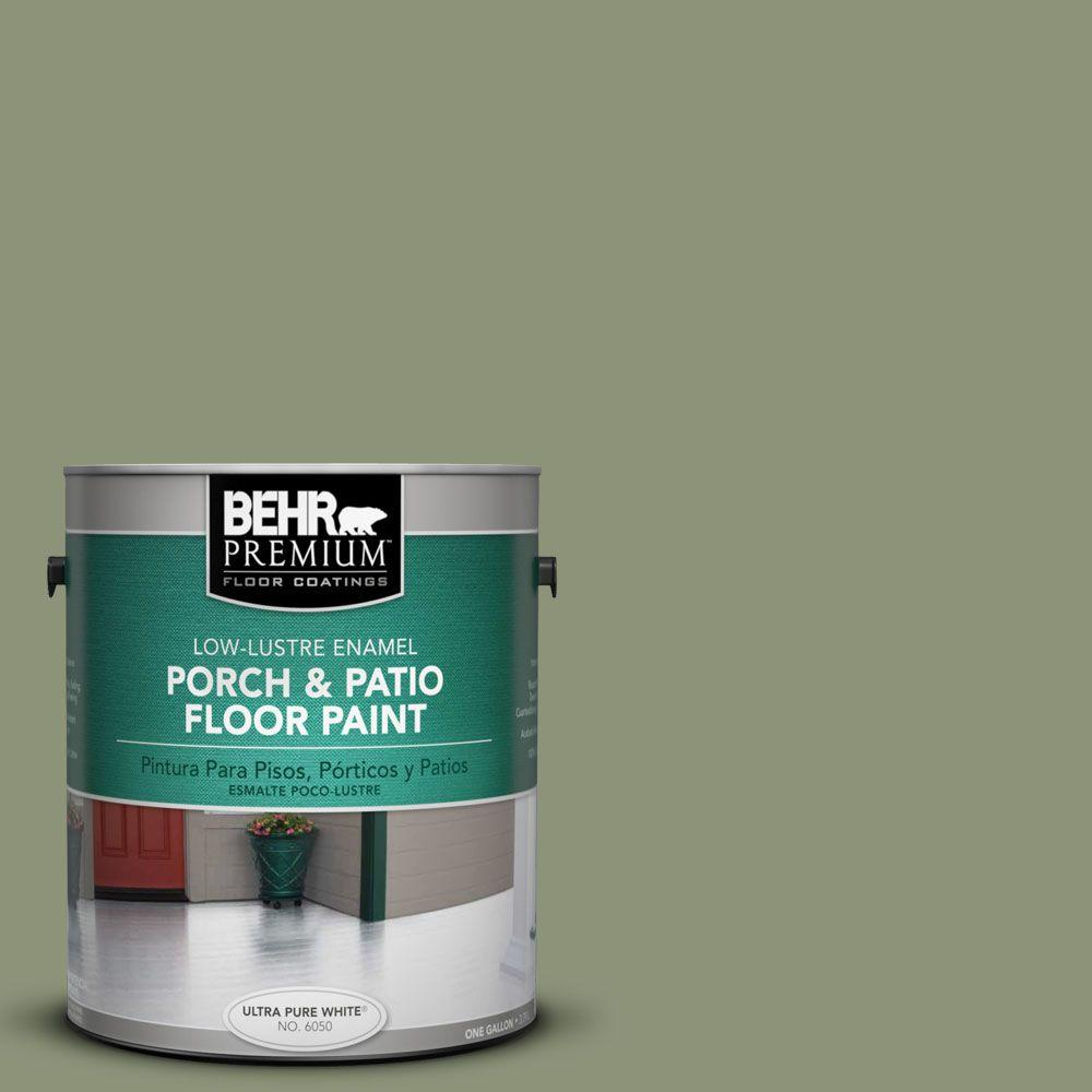 BEHR Premium 1-Gal. #PFC-39 Moss Covered Low-Lustre Porch and Patio Floor Paint