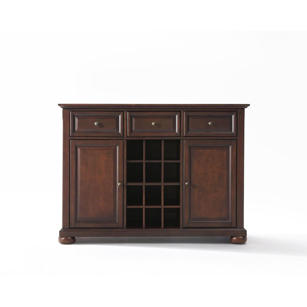 Home Styles White And Natural Buffet With Hutch 5100 0021