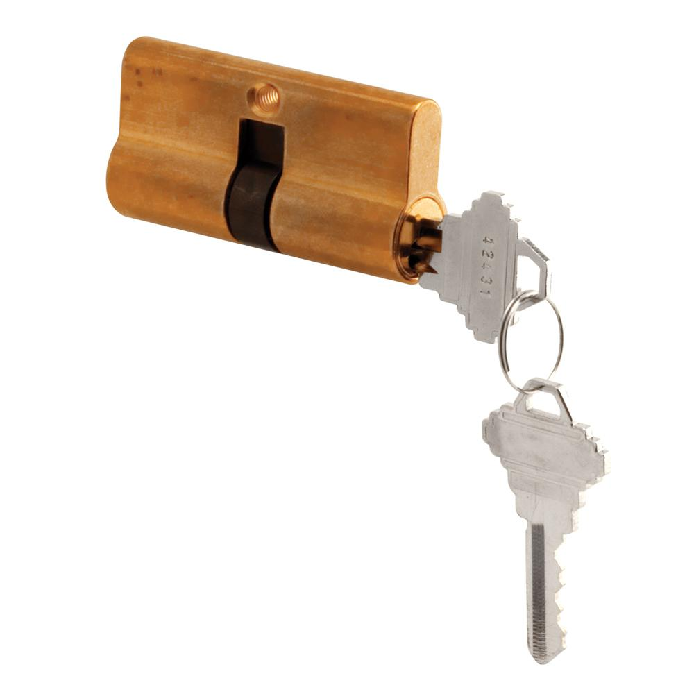 Prime Line Brass Storm Or Security Door Mortise Double