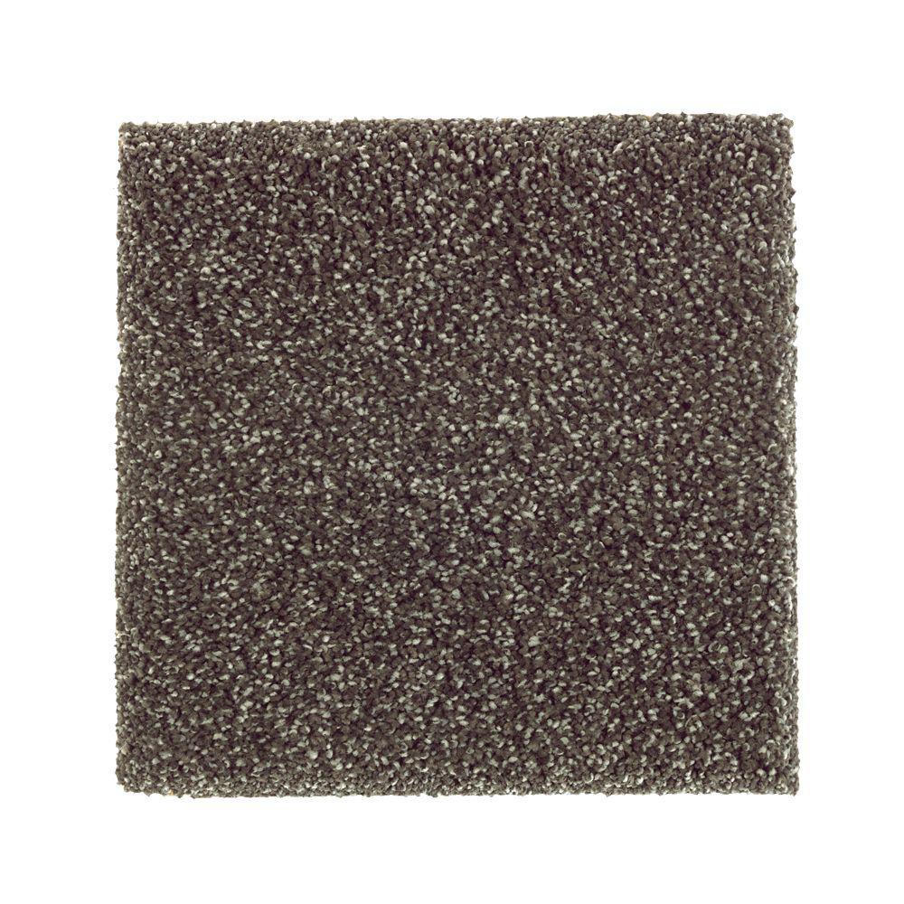 Petproof carpet sample whirlwind ii color rough stone for Pet resistant carpet