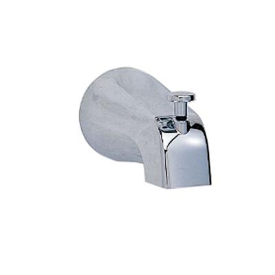 Slip-On Diverter Tub Spout in Polished Chrome for American Standard Faucets