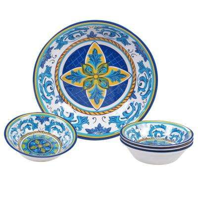 Lucca Multicolor Salad/Serving Set (Set of 5)