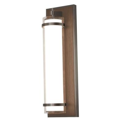 Arden 15.5-Watt 15.75 in. Oil-Rubbed Bronze Integrated LED Wall Mount Sconce