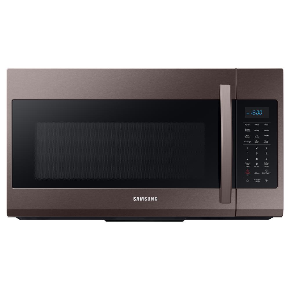 Samsung Samsung 30 in. 1.9 cu. ft. Over-the-Range Microwave in Fingerprint ResistantTuscan Stainless Steel, Fingerprint Resistant Tuscan Stainless Steel
