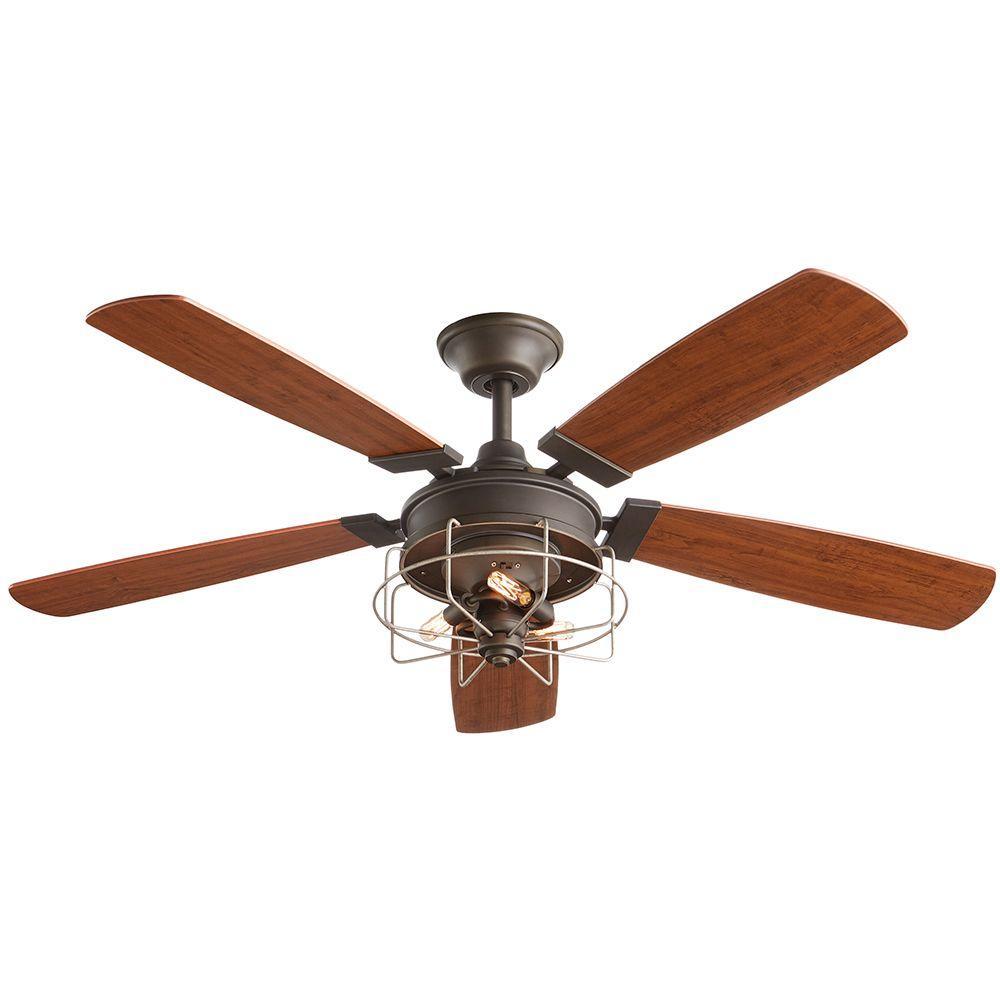 Toledo 52 in. Oil-Rubbed Bronze Ceiling Fan