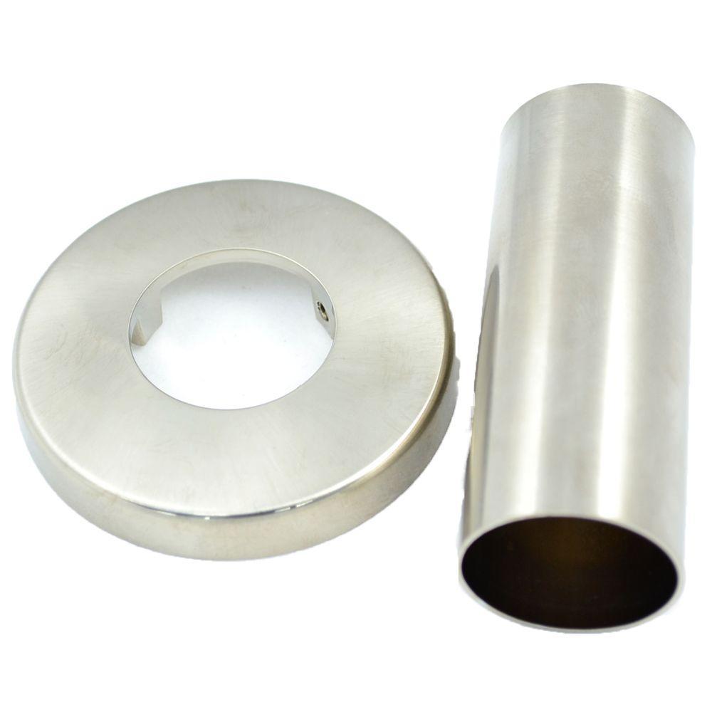 PartsmasterPro Flange for Price Pfister, Brushed Nickel by PartsmasterPro