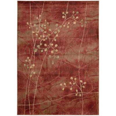 Somerset Flame 3 ft. 6 in. x 5 ft. 6 in. Area Rug