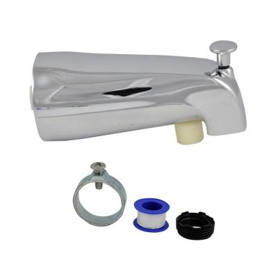 Universal Tub Spout with Handheld Shower Fitting