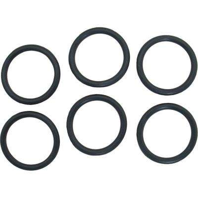 1-3/16 in. O.D. x 15/16 in. I.D. #218 Rubber O-Ring (6-Pack)