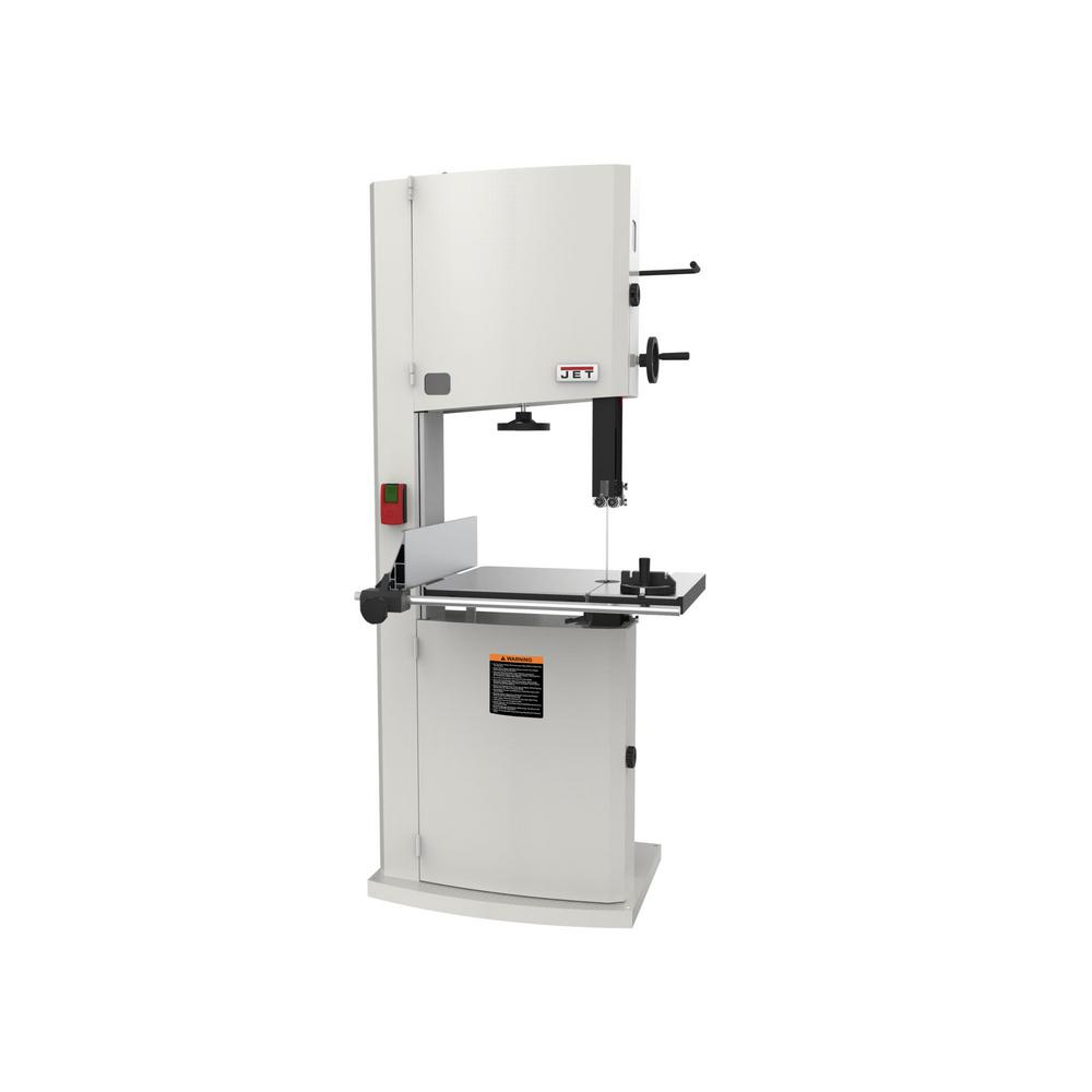 3 HP 20 in. Woodworking Vertical Band Saw, 230-Volt, 2-Speed, JWBS-20-3