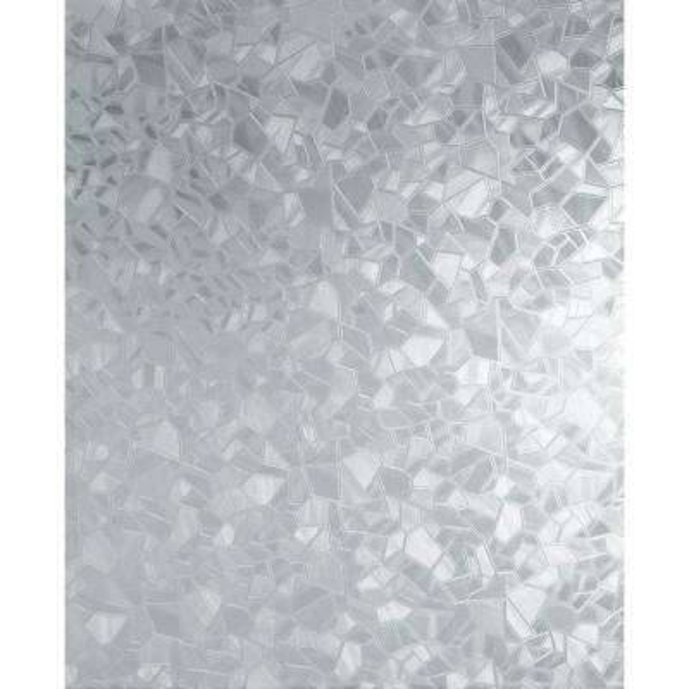 Splinter 26 in.x 59 in.  Frosted mosaic pattern home decor static window film