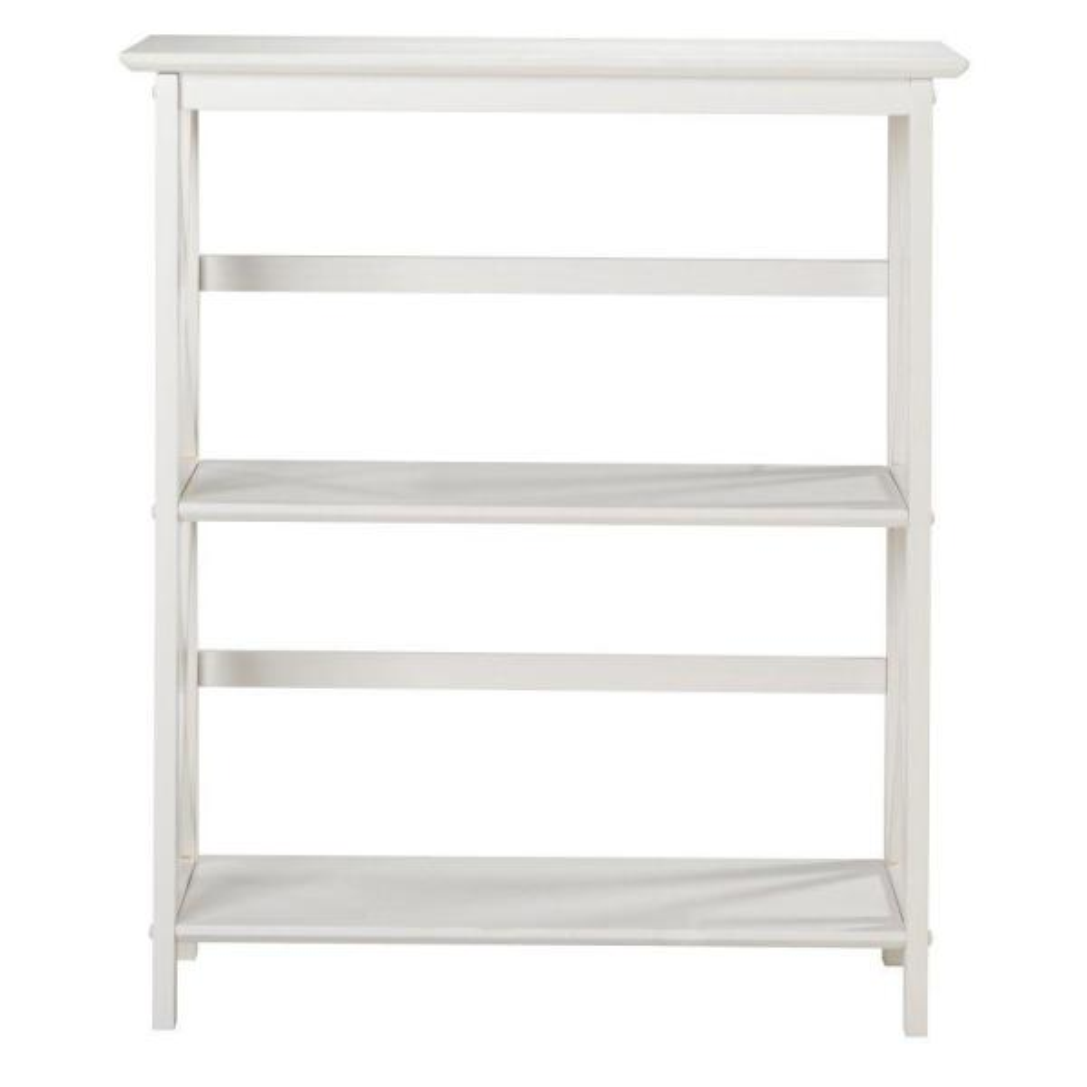 Casual Home Montego White Open Bookcase