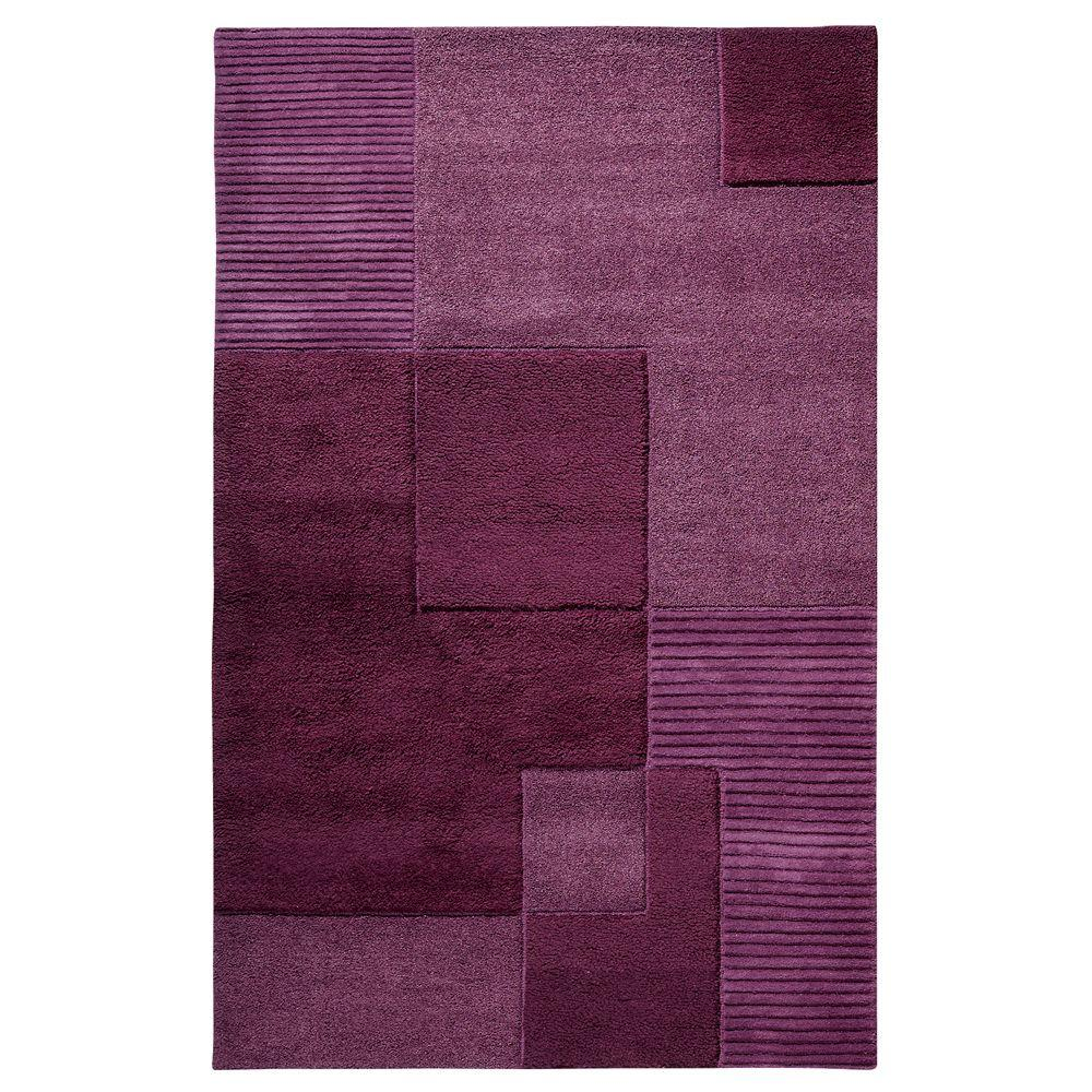 Home Decorators Collection Clara Plum 9 ft. 6 in. x 13 ft. 6 in. Area Rug