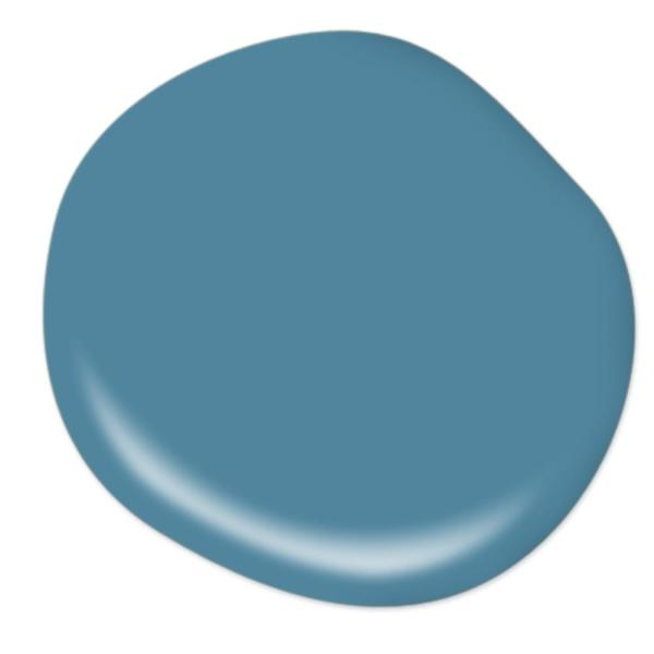Reviews For Behr Marquee 1 Gal S490 5 Jay Bird One Coat Hide Semi Gloss Enamel Interior Paint Primer 345401 The Home Depot