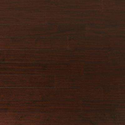 Scraped Maple Coffee 1/2 in. Thick x 5 in. Wide x Random Length Engineered Hardwood Flooring (31 sq. ft. / case)