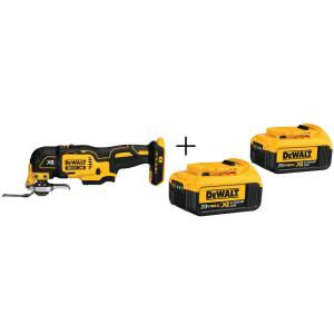 DEWALT 20-Volt MAX Cordless Oscillating Multi-Tool w/Battery Deals