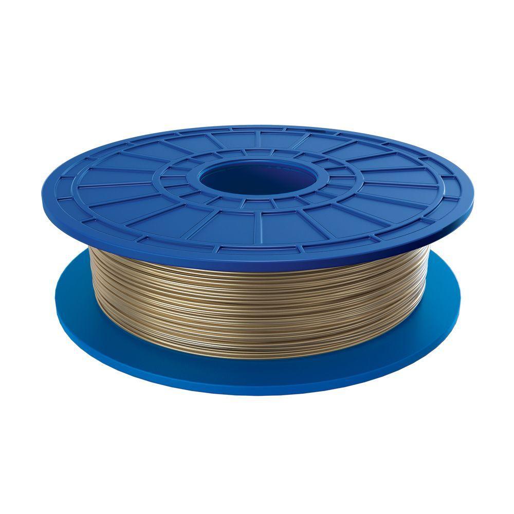 Dremel 1.1 lbs. Gold PLA Filament for 3D Idea Builder Printer