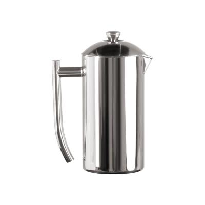 6-Cup Mirror Finish Stainless Steel French Press