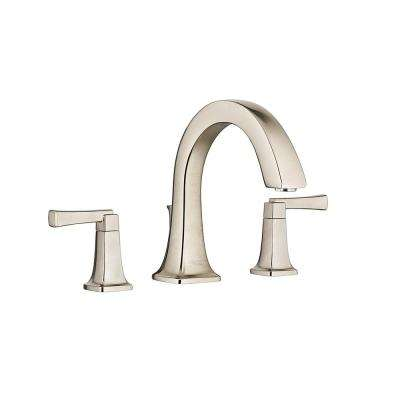 Townsend 2-Handle Deck-Mount Roman Tub Faucet in Brushed Nickel