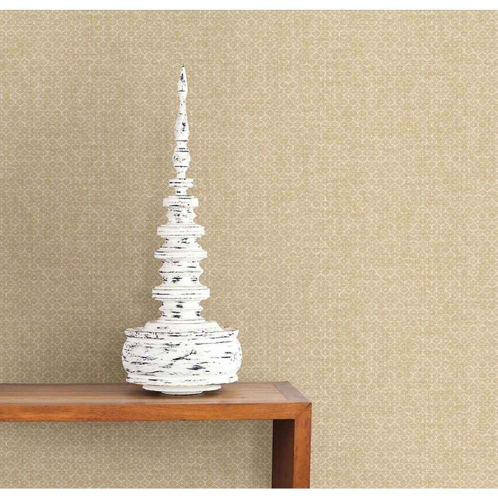 Hip Beige Texture Wallpaper Sample