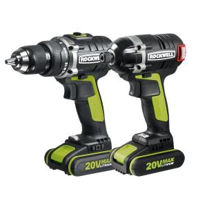 Rockwell 20-Volt Lithium-Ion Cordless Drill/Impact Driver Combo Kit (2-Piece) by Rockwell