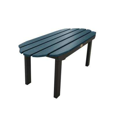 Essential Shale Rectangular Recycled Plastic Outdoor Coffee Table