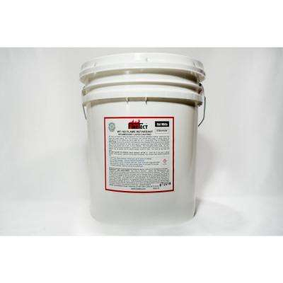 eaae34fff8cb WT-102 5 gal. White Flat Latex Intumescent Fireproofing Flame Retardant  Paint Coating for