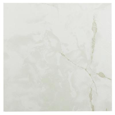 Sterling Classic White Stone 12 in. x 12 in. Peel and Stick Vinyl Tile (20 sq. ft. / case)