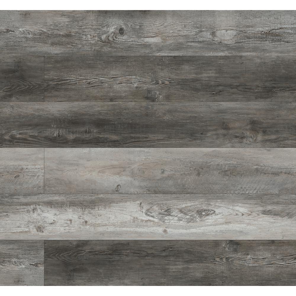 7.13 in. W x 48.03 in. L Keena Chateau Rigid Core Luxury Vinyl Click Lock Plank Flooring (23.77 sq. ft./case)