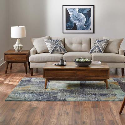 Empire Periwinkle 7 ft. x 9 ft. Geometric Area Rug