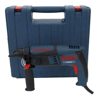 4.8 Amp Corded 5/8 in. SDS-plus Variable Speed Concrete Rotary Hammer Drill with Hard Case