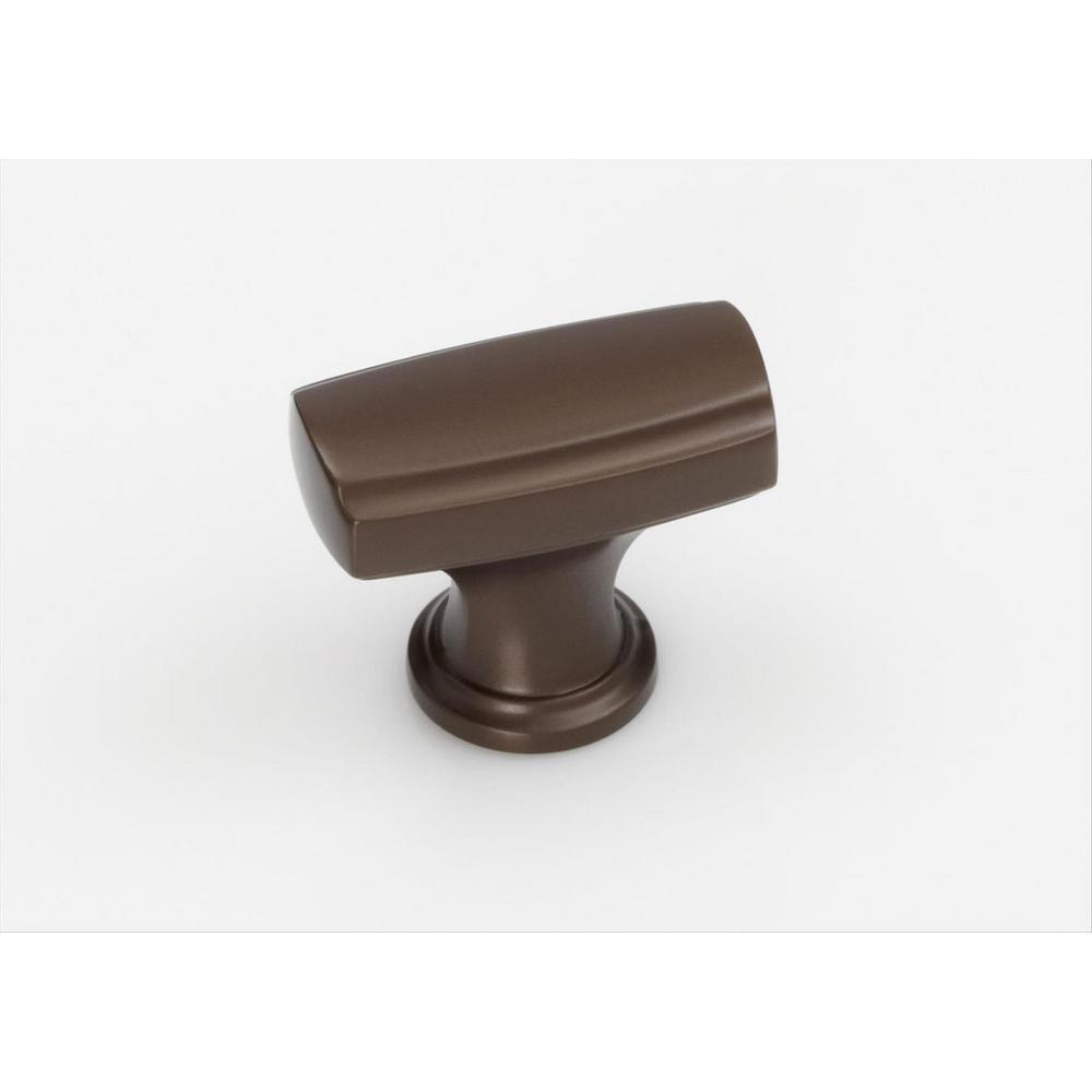 Highland Ridge 1-3/8 in (35 mm) Length Caramel Bronze Cabinet Knob