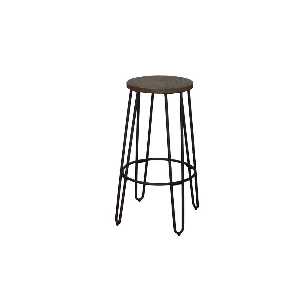 Ace Casual Furniture 28 94 In Matte Black Bar Stool