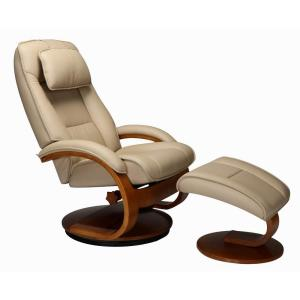 Pleasant Relax R Brampton Cobblestone Top Grain Leather Recliner With Ncnpc Chair Design For Home Ncnpcorg