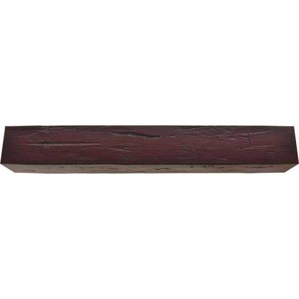 Ekena Millwork 12 In X 10 In X 22 Ft 3 Sided U Beam Hand Hewn Premium Cherry Faux Wood Ceiling Beam Bmhh3c0100x120x264zy The Home Depot