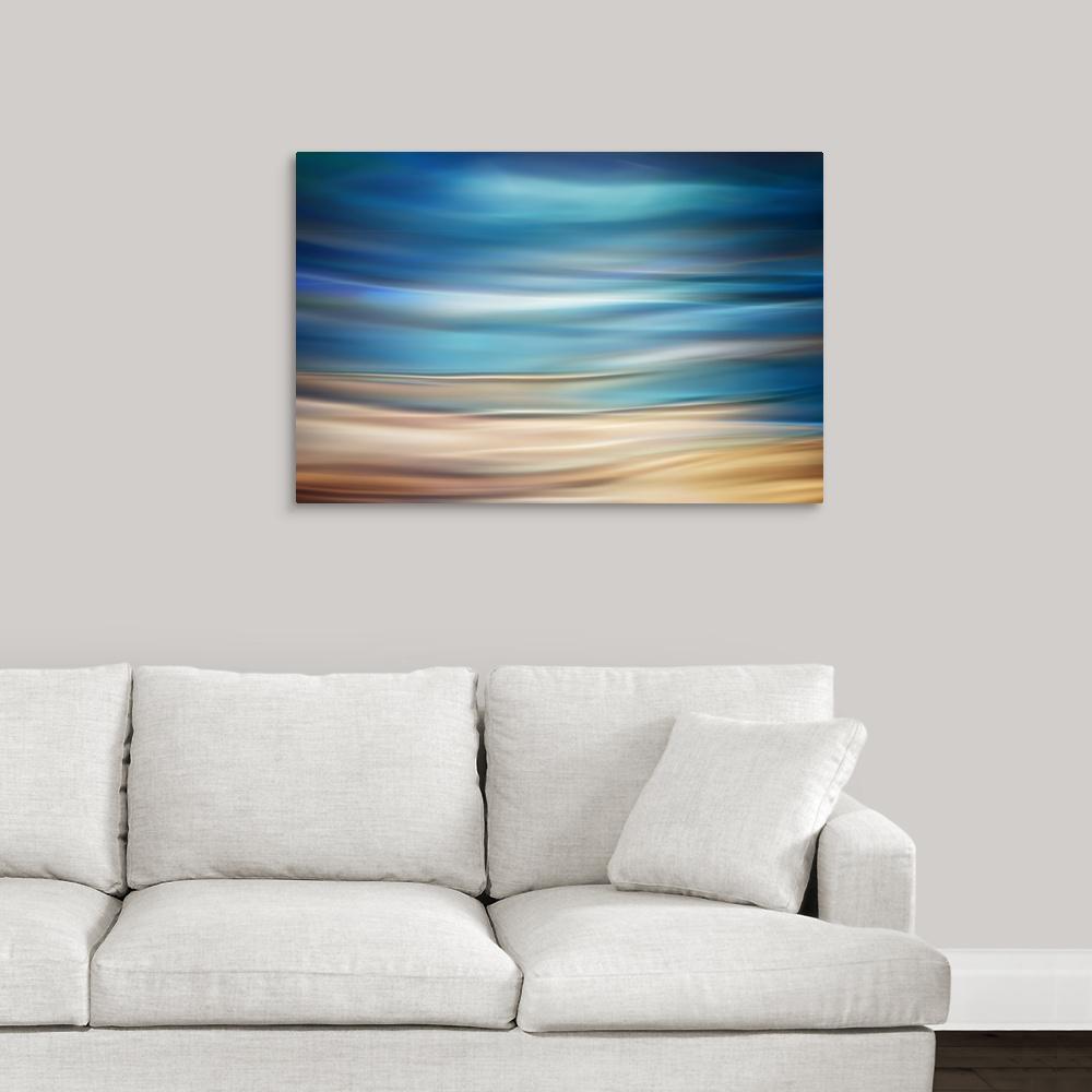 """""""Shore"""" by Ursula Abresch Canvas Wall Art"""