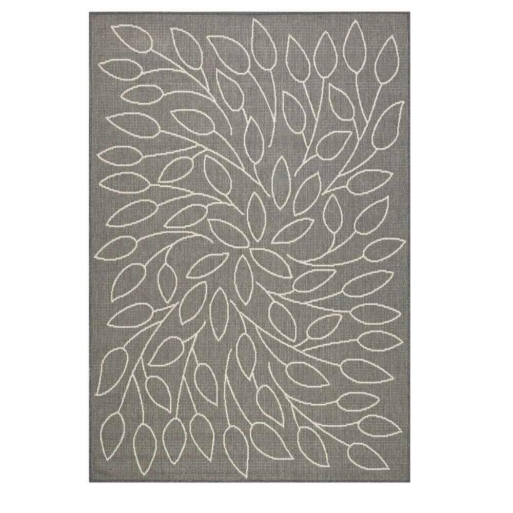 Home Decorators Collection Persimmon Grey/Champagne 2 ft. x 4 ft. Area Rug