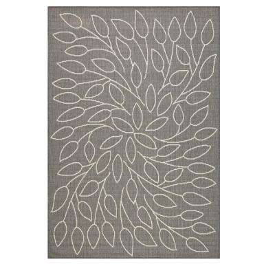 Persimmon Grey/Champagne 9 ft. x 13 ft. Area Rug