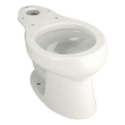 Wellworth Round Toilet Bowl Only in White
