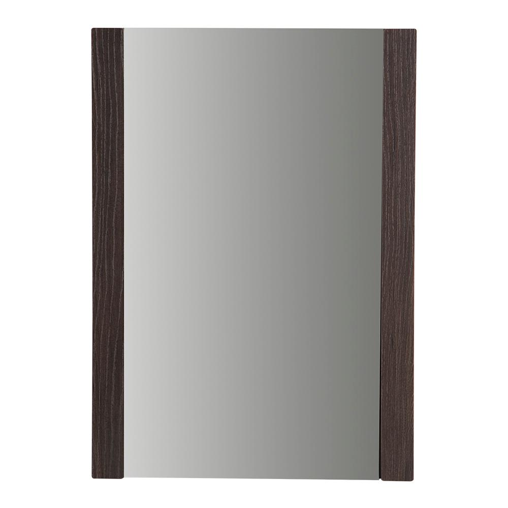 Domani Larissa 20 in. W x 28 in. H Framed Wall Mirror in Elm Ember