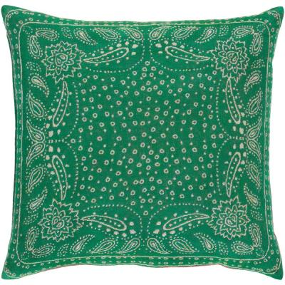 Blackwell Green Graphic Polyester 20 in. x 20 in. Throw Pillow