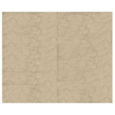 44 sq. ft. Latte Fabric Covered Top Kit Wall Panel