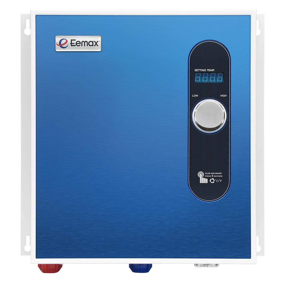 Eemax 27 Kw Self Modulating 5 3 Gpm Electric Tankless Water Heater