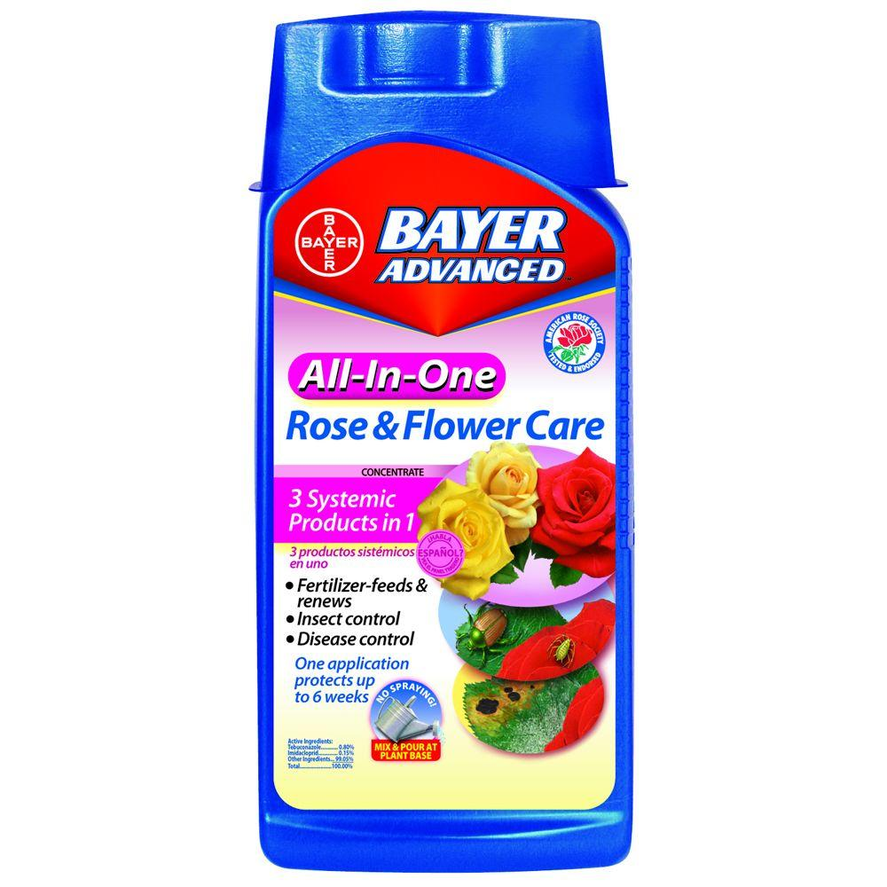 Bayer advanced 32 oz concentrate all in one rose and for Advanced home