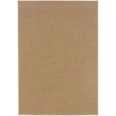 Sanibel Natural 9 ft. x 13 ft. Area Rug