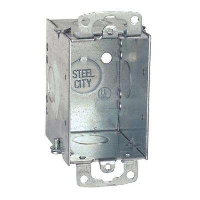 3 in. Steel 14 cu. in. Old Work Switch Box (Case of 25)