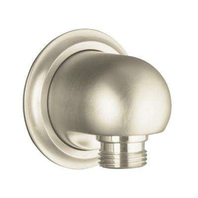 Forte Supply Elbow in Vibrant Brushed Nickel