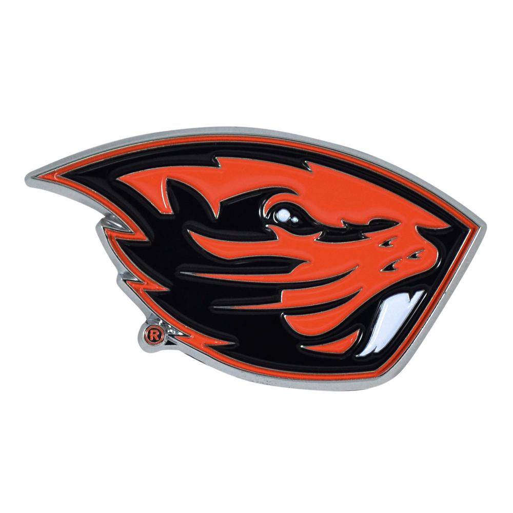 FANMATS 3 in  x 3 2 in  NCAA Oregon State University Color Emblem