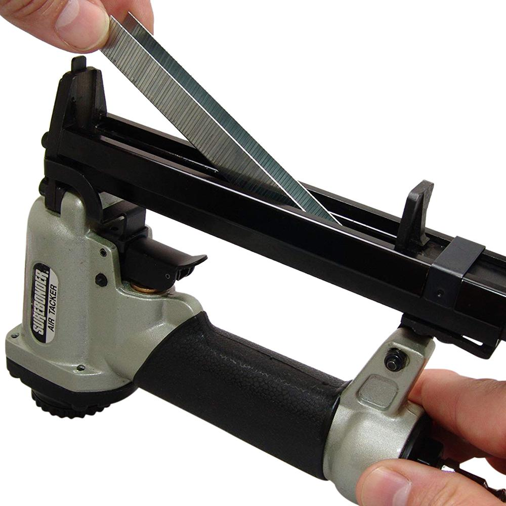 9615A Pneumatic 22 Gauge Upholstery Stapler with Case